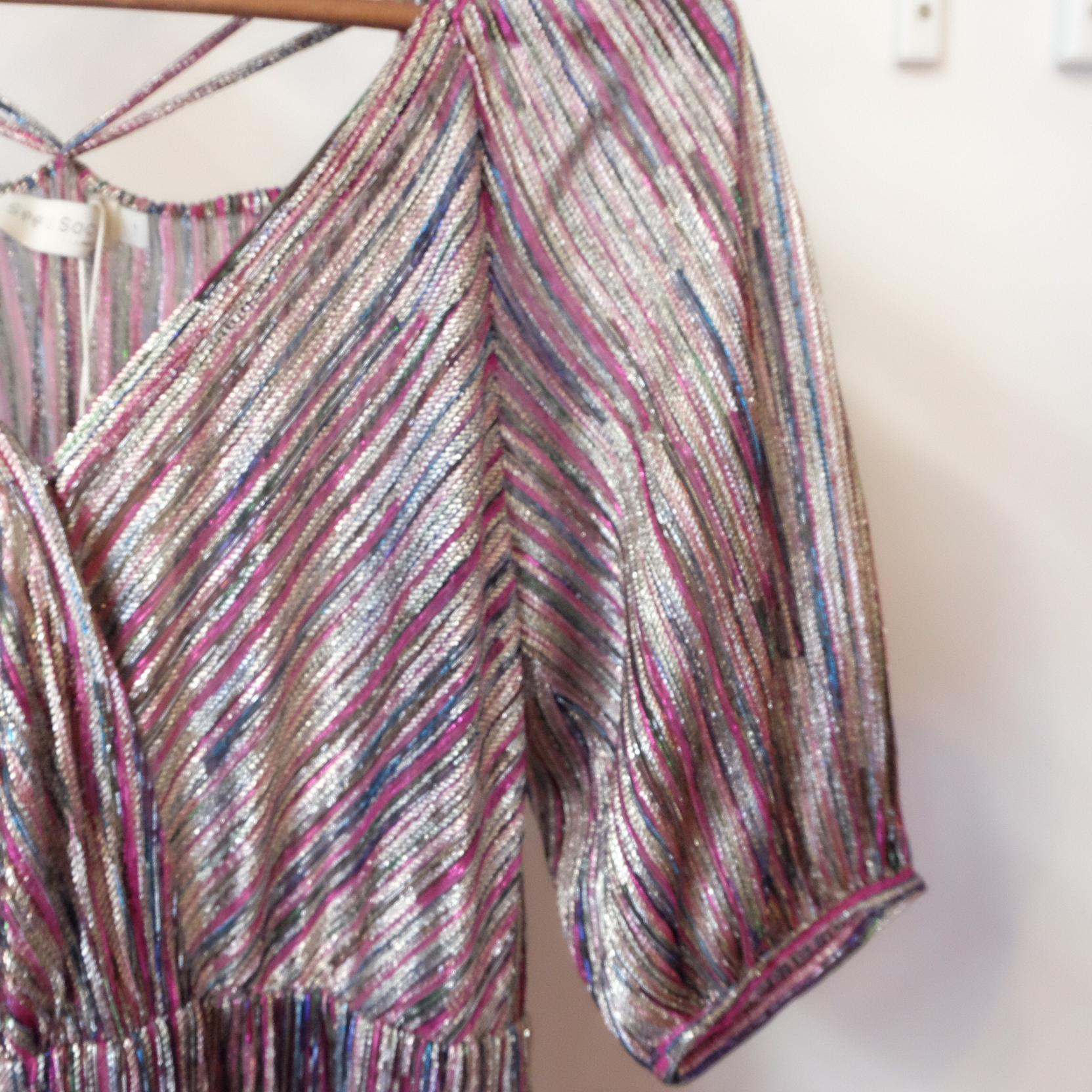 Vestido lurex SEE U SOON Misha Barcelona