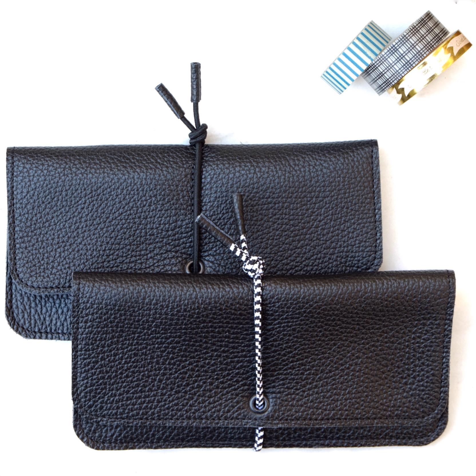 Wallet grande negro Barcelona MIsha