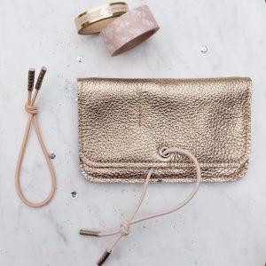 Wallet gold Misha Barcelona