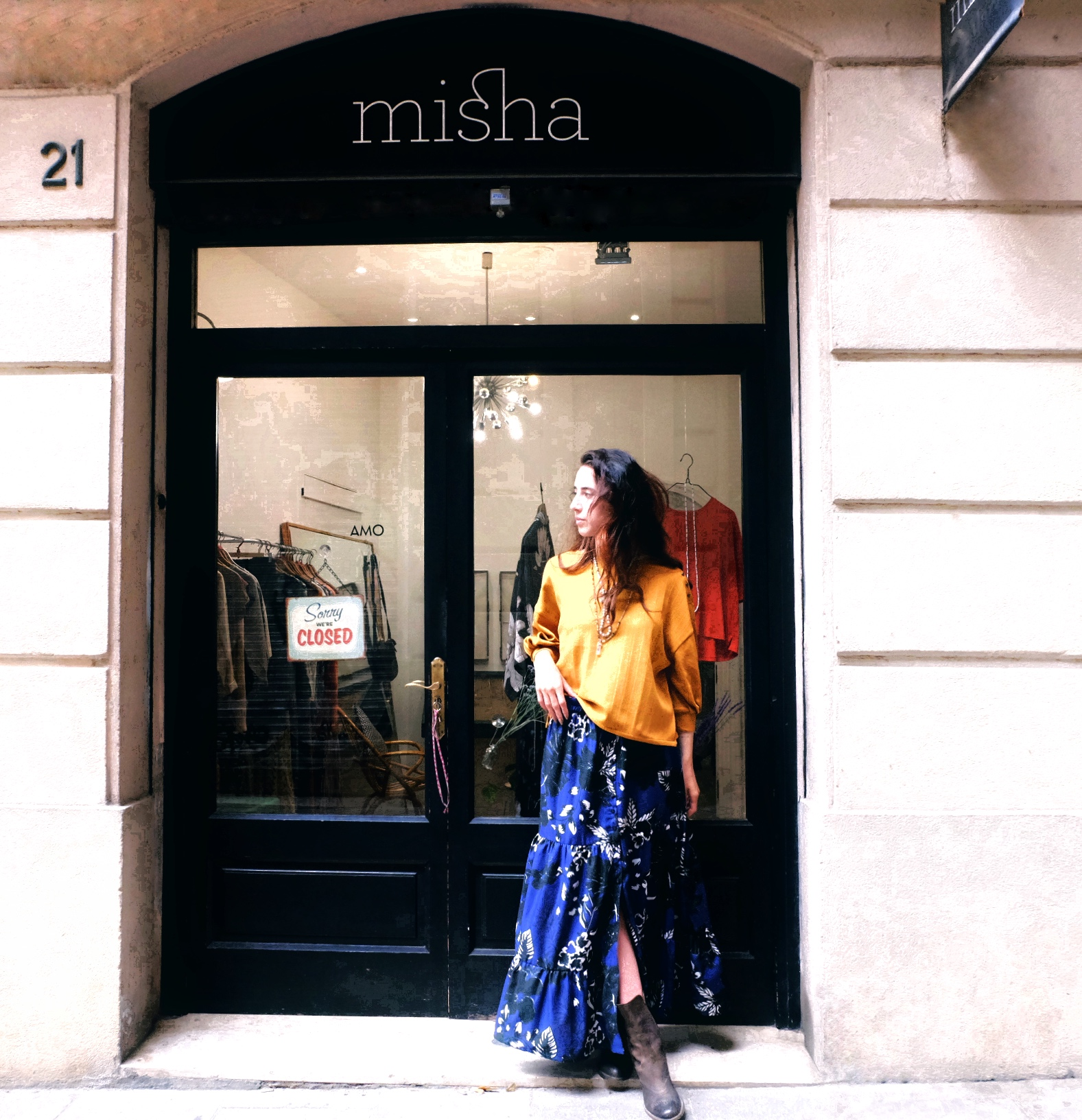 Falda Solange matisse Misha July eleven