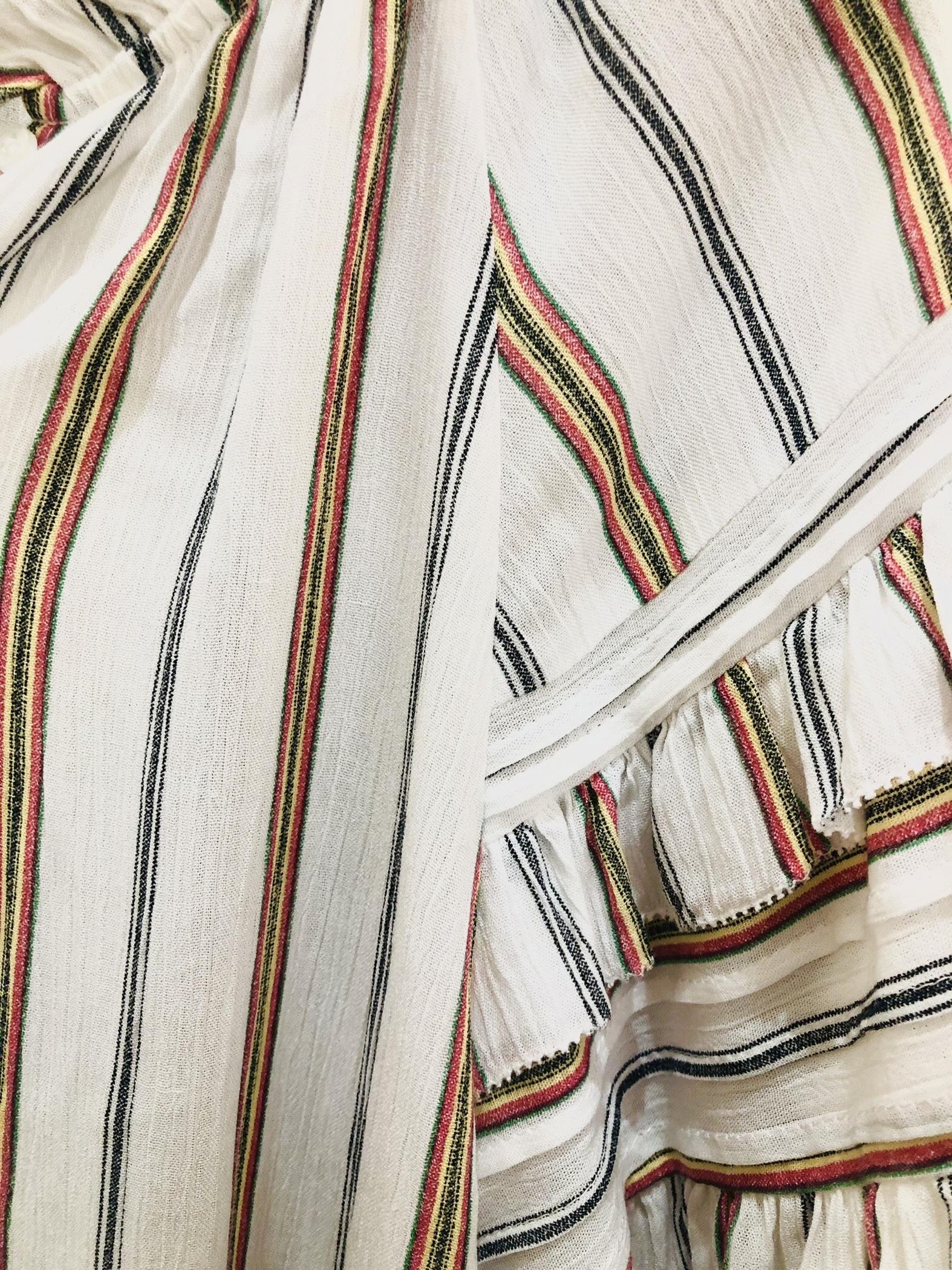 Blusa manga doble volante misha barcelona